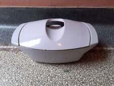 rare cast iron casserole le creuset  Raymond Loewy Pans lilas/lavande
