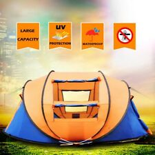 Extra Large 4-5 Person Pop Up UV Shelter Outdoor Camping Hiking Beach Tent Mesh