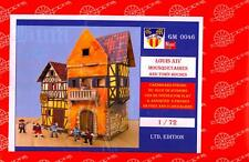 BUM Models 1/72 FRENCH ROYAL MUSKETEERS WITH TOWN HOUSES Figure Set