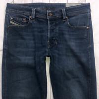 Mens DIESEL Larkee-Beex Jeans W31 L30 Blue Regular Straight Wash 0857Z STRETCH