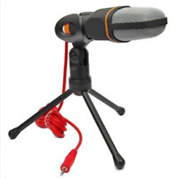 For PC Laptop Skype Game Professional Condenser Sound Recording Microphone Mic