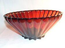 Vintage Anchor Hocking Classic Royal Ruby Large Bowl