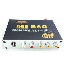 One Tuner Car DVB-T2 HD Digital TV Receiver Support 60KM/H - Black