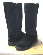UGG KARA WOMEN TALL SLIM BOOTS SUEDE BLACK US 6 / UK4.5 /EU37 /S1