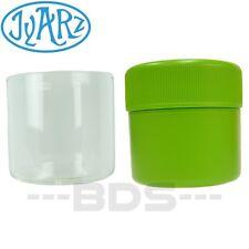 Green Jyarz Satchmo Storage Container Glass BPA Free USA -Made 2.5x2.5 Herb Jar