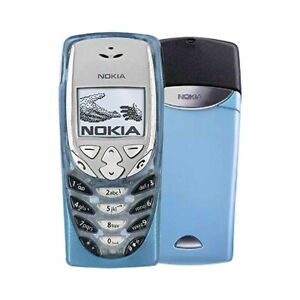 Nokia 8310 Mini Sim Mobile Cellular Button Phone Original Light Blue Unlocked UK