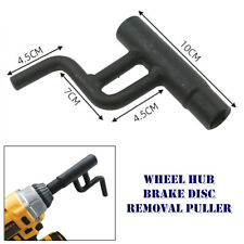 Motorcycle Wheel Hub Brake Disc Cover Wrench Remove Puller Manual Tool Universal