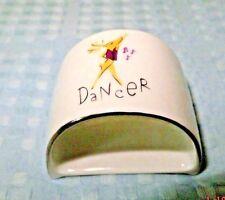 Pottery Barn Reindeer Napkin Ring Dancer