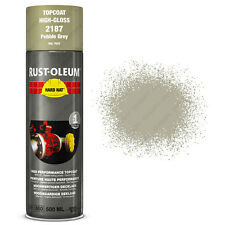 x9 Industriale Rust-Oleum Pebble Grigio Spray Vernice Spray Cappello Rigido