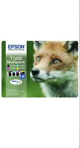 Epson T1285 Multipack DURABrite High Capacity Ink Cartridge Exp 6/23 NEW SEALED