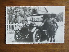 PHOTO ORIGINALE  GEVAERT  CHASSE AU  CONGO BELGE   AFRIQUE  HUNTING  1940'S CAR
