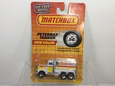 Vintage,1987 Matchbox, MB56 Peterbilt Tanker, Shell Oil, New on Card