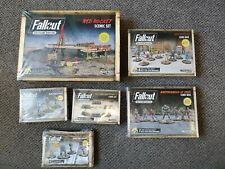 FALLOUT WASTELAND WARFARE LOT red rocket scenic set + 5 expansions NEW & SEALED