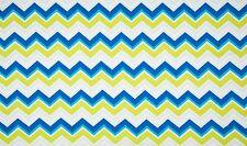 Baumwoll Jersey Diagonal Stripes multi Meterware Kinderstoff maritim Chevron