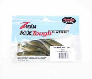 Zman Soft Lure Jerk ShadZ 5 Inch 5 per pack Shiner (2727)