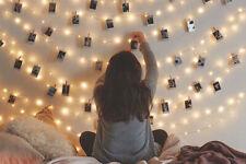 20 LED Photo Clips Christmas Decorative String Fairy Lights DIY Light Decoration