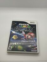 Super Mario Galaxy w/ Box and Manual - Nintendo Wii - Complete/CIB Tested/Works