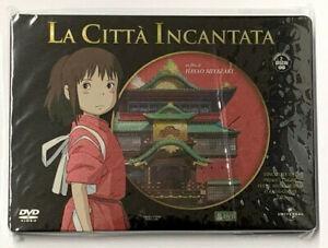 LA CITTA' INCANTATA  Steelbook di Hayao Miyazaki - DVD Studio Ghibli