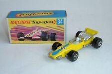 Matchbox Superfast Diecast Formula 1 Cars