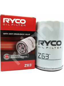 Ryco Oil Filter FOR FORD FIESTA WQ (Z63)