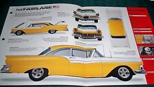 1957 FORD  FAIRLANE 500  IMP  BROCHURE