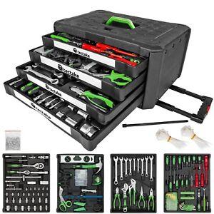 899 p maleta de herramientas trolley caja martillo alicates maletin ruedas NUEVO
