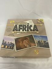 10 Days in Africa Travel & Geography Game Out of the Box Complete 2-4 Player 10+