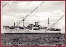 MOTONAVE ANNA C - NAVE NAVIGAZIONE MARINA SHIP Cartolina REAL PHOTO