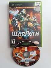 WarPath for XBOX ORIGINAL GAME AND ORIGINAL CASE - FAST N FREE SHIPPING !!