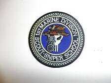 b0544 USMC Sniper Patch 1st Marine Division Scout-Sniper School R7C