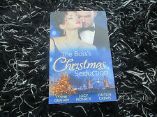 MILLS & BOON THE BOSS'S CHRISTMAS SEDUCTION 3 IN 1 LIKE NEW 2015