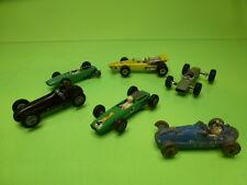 LOT of 7 F1 CARS LESNEY PENNY BESTBOX - MASERATI BRABHAM COOPER LOTUS - NICE CON