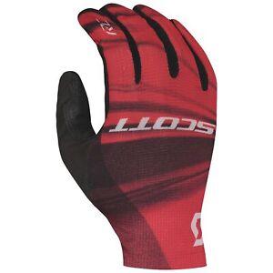 Scott RC Pro Full Finger Cycling Gloves - Pink