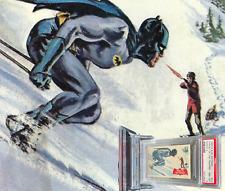 1966 A&BC Batman A Series TARGET OF THE TRAPPER #4A NM-MINT 8-Vintage garno PSA