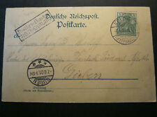 AK Litho Kyffhäuser Rathsfeld Stempel Postbriefkasten Rothenburg Kelbra > Guben