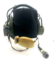Wwii British Army Radio Military Headset Vintage Headphones Us . uk Air Ww2 Era