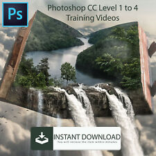 Photoshop CC Training Video Tutorial 35 Hrs+ & Free Books - Instant Download