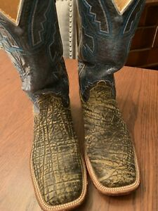 Men's Anderson Bean Cowboy Boot 9 M Elephant Pre Owned