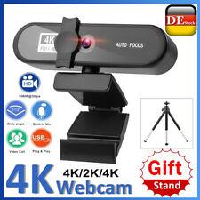 1K/2K/4K HD WebCam Kamera Autofokus mit Mikrofon Drehbar WebCam USB 3.0 für PC