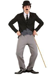 Men's Charlie Chaplin Costume SIZE M (Used)