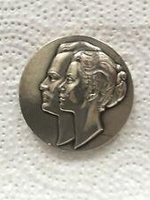 medaille Mariage princier Monaco Rainier et Grace Kelly 1956