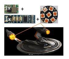 USS Franklin NX-326 1:350 Bussard Collector Blaze Effect Star Trek Beyond MOE975