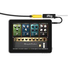 Multimedia AmpliTube iRig Guitar Interface Adaptor Converter For IOS Device SET