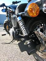 Support de plaque latéral pour Harley Davidson Dyna Street Bob 06-17