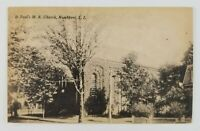 Postcard St Paul's Church Northport Long Island New York