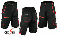 MTB Shorts Mens Bike Cycling Padded Thermal CoolMax Off Road Lycra Running Gym