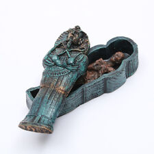 Egyptian Mummies Figure Mummy in a Sarcophagus Tutankhamun Resin Statue