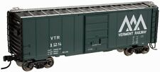 ATLAS N SCALE 40' PS-1 BOX CAR VERMONT RAILWAY #128