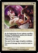 SOLITARY CONFINEMENT Judgment MTG White Enchantment RARE