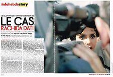 """PUBLICITE ADVERTISING   2009   RACHIDA DATI  """" le cas"""" (4 pages)"""